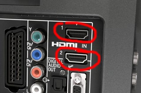 В этом способе вам надо подключить ноутбук к телевизору кабелем HDMI.